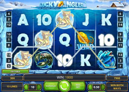 spela Lucky Angler