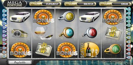 spela Mega Fortune