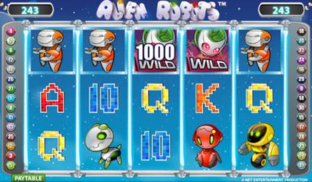 spela alien robots